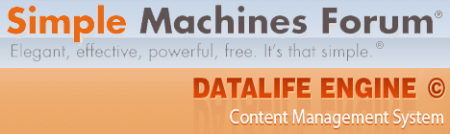 Datalife Engine 9.6 + Форум SMF 2.0.2