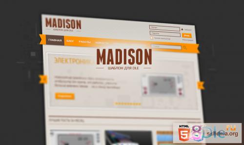 Шаблон Madison для DLE 10.2 - 9.8