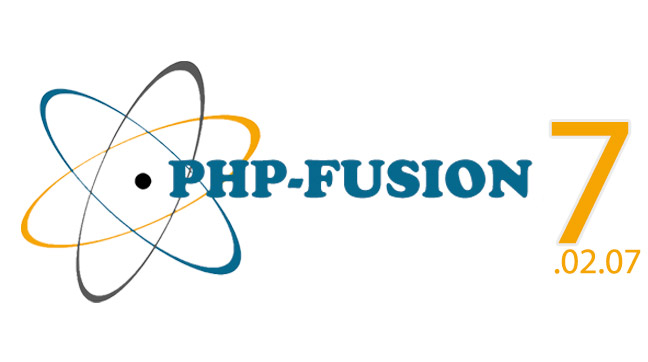 PHP-Fusion v7.02.07
