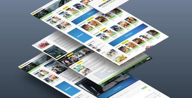 MovieGroovie v2  - адаптивный киношаблон от webrambo.ru