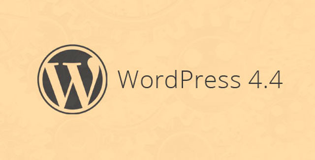 WordPress 4.4 Rus