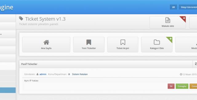 Ticket System v1.4.1 - система тикетов