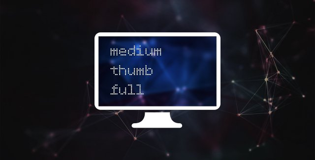 Достаем thumb и medium из доп. полей